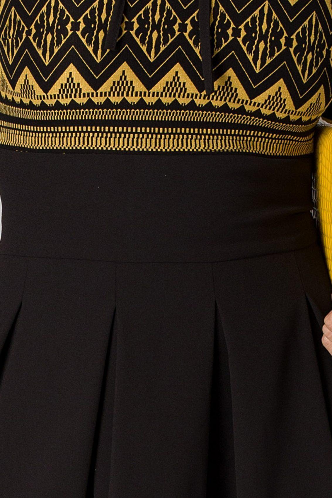 Moze Zara Μαύρο Φόρεμα 5162