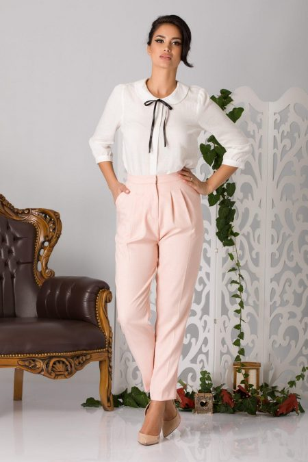 Ariss Pink Trousers