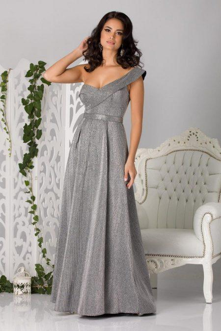 Sublime Ασημί Φόρεμα 1238