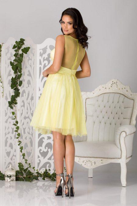 Fairy Κίτρινο Φόρεμα 1294