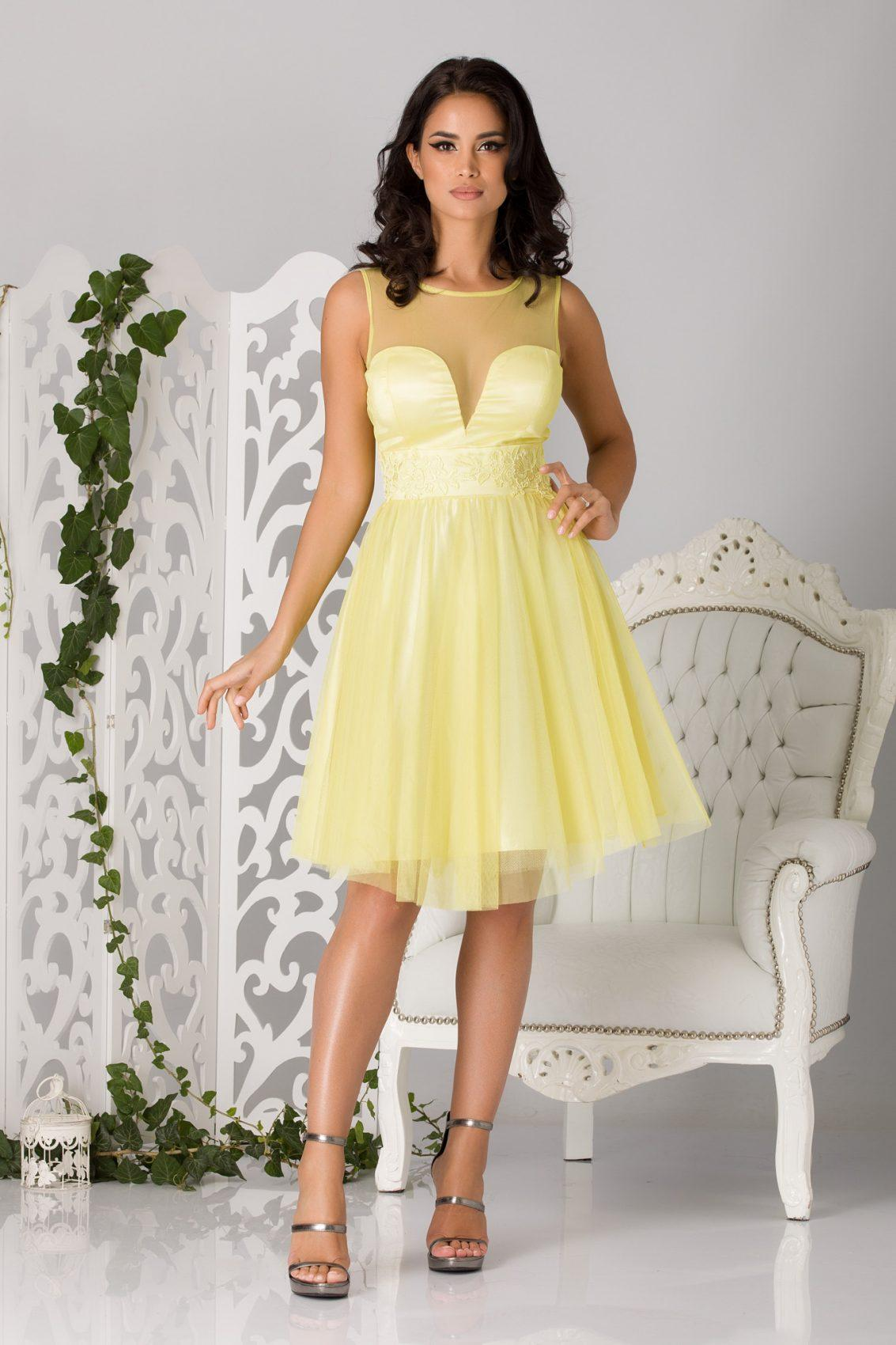 Fairy Yellow Dress