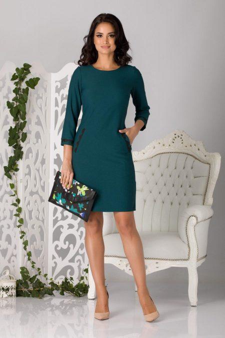 Moze Linda Green Dress