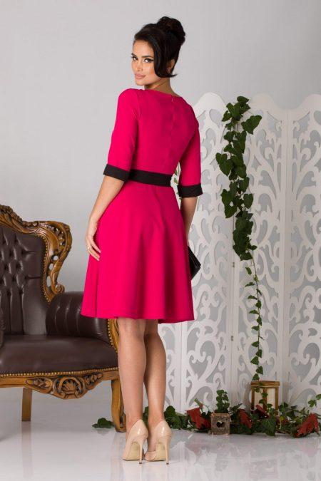 Fiona Φούξια Φόρεμα 5181