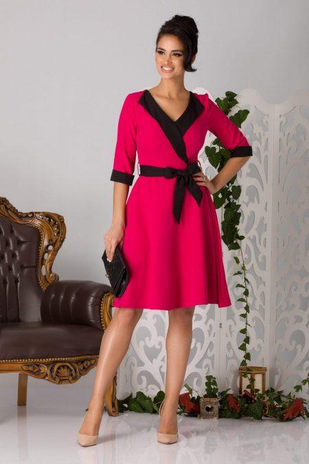 Fiona Ciclam Dress