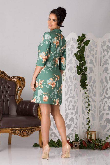 La Donna Erin Πράσινο Φόρεμα 5198