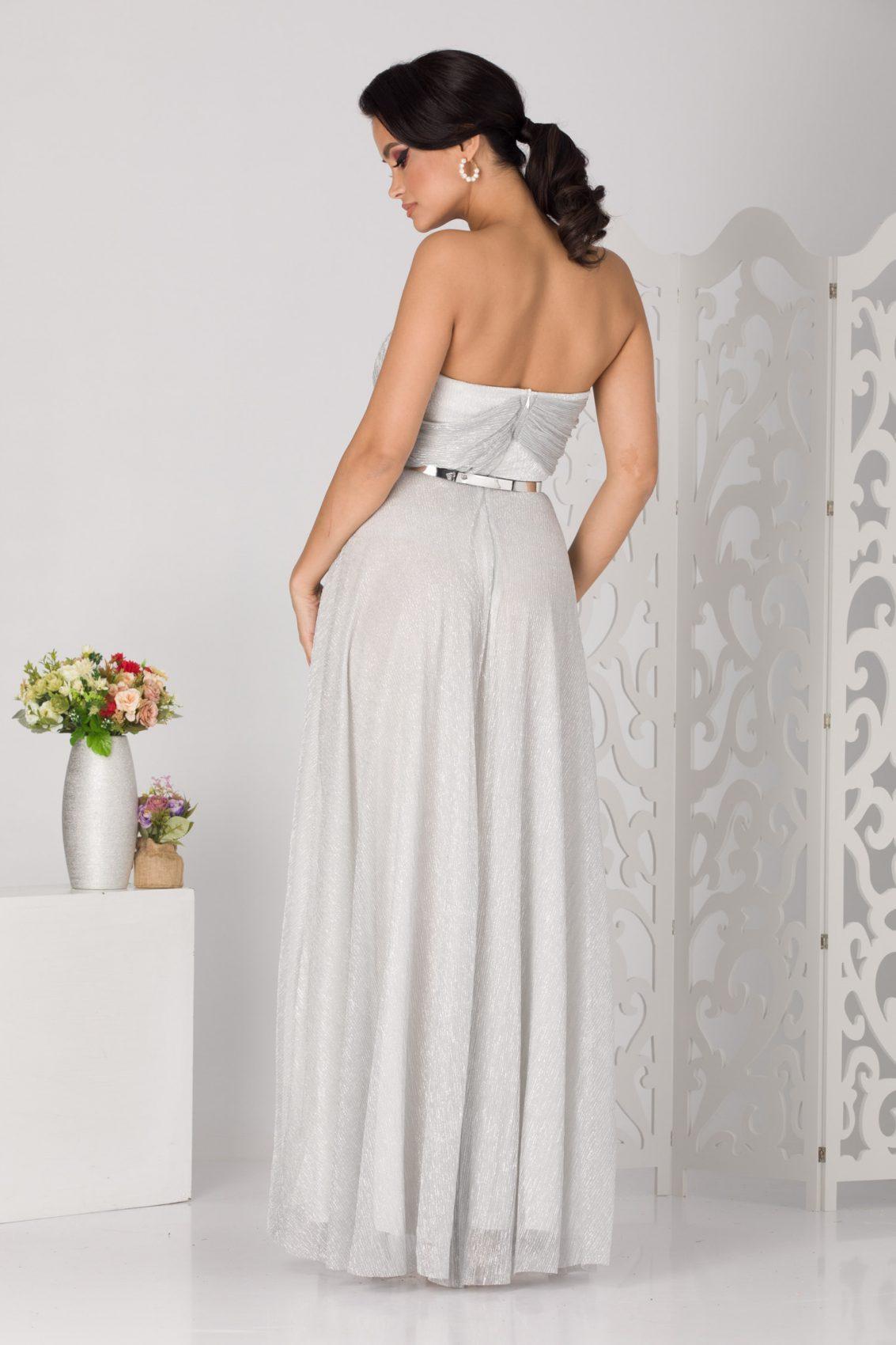 Anais Maxi Ασήμι Φόρεμα 5138