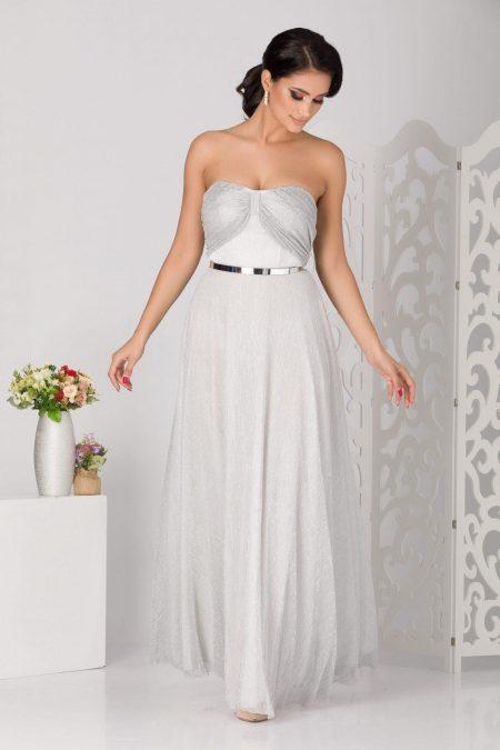 Anais Silver Dress