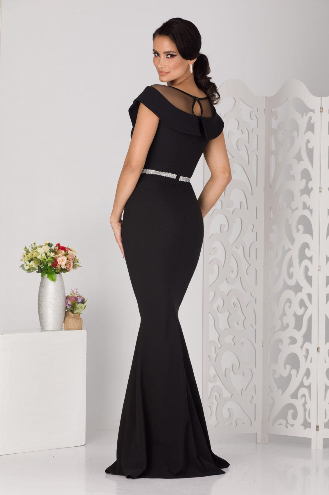Vibrating Maxi Μαύρο Φόρεμα 5132