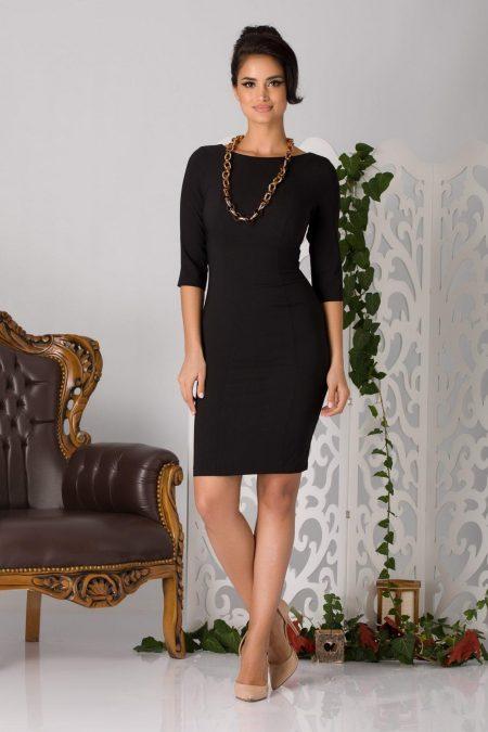 Alexa Midi Μαύρο Φόρεμα 2190