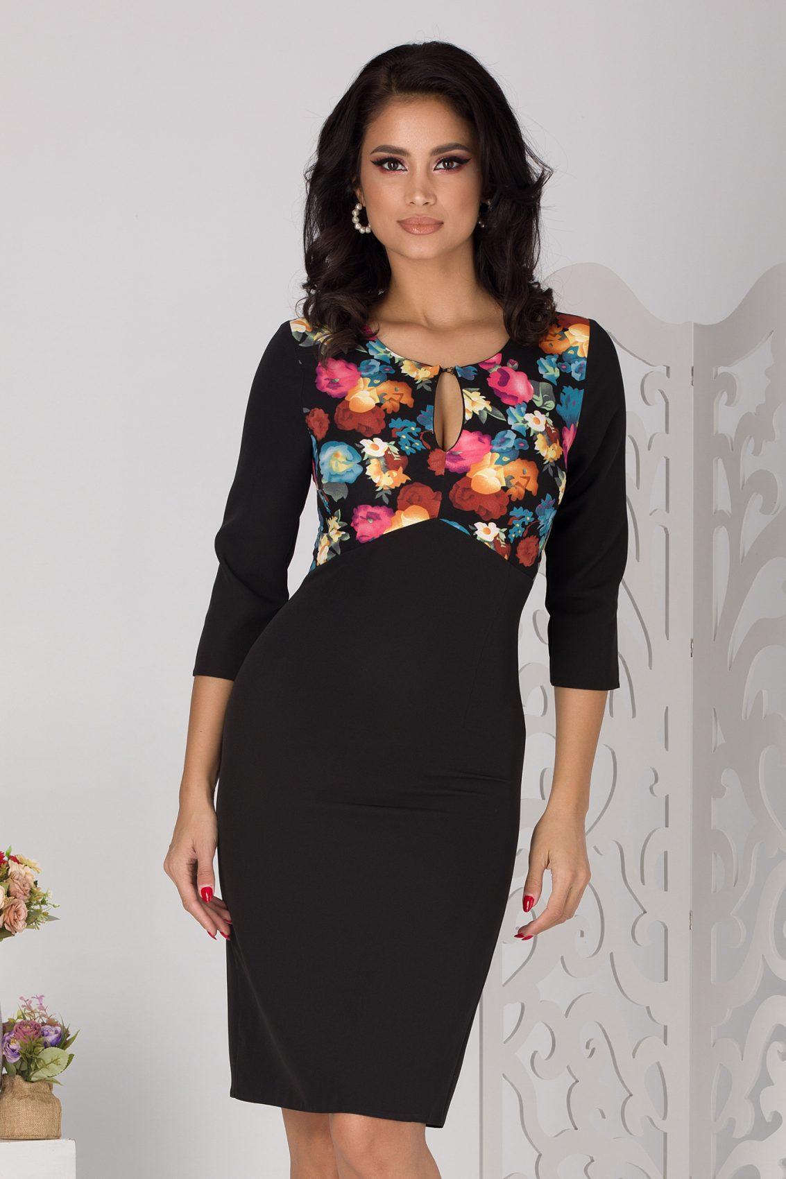 Fabiola Blck Dress