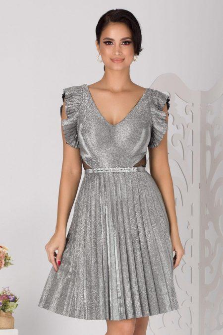 Allana Silver Dress