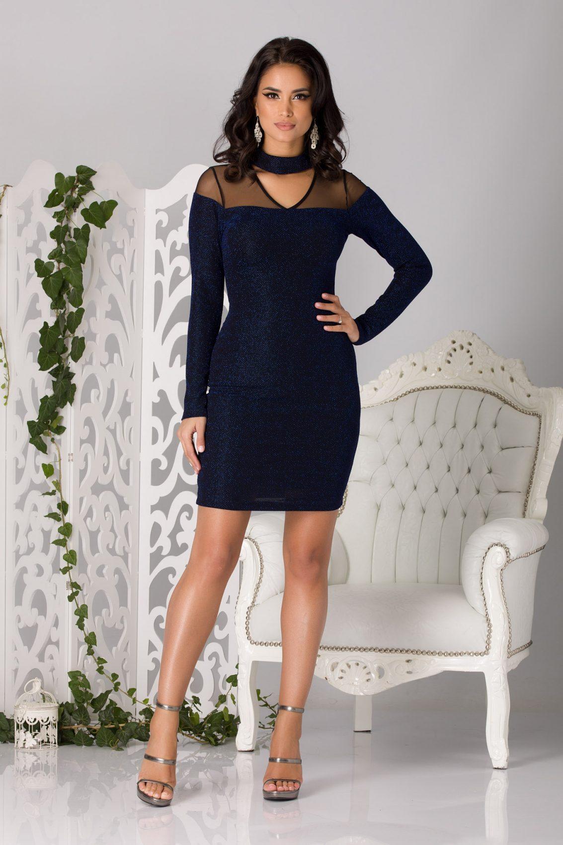 Thalia Royal Μπλε Φόρεμα 1373