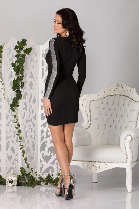 Hope Μαύρο Φόρεμα 2186