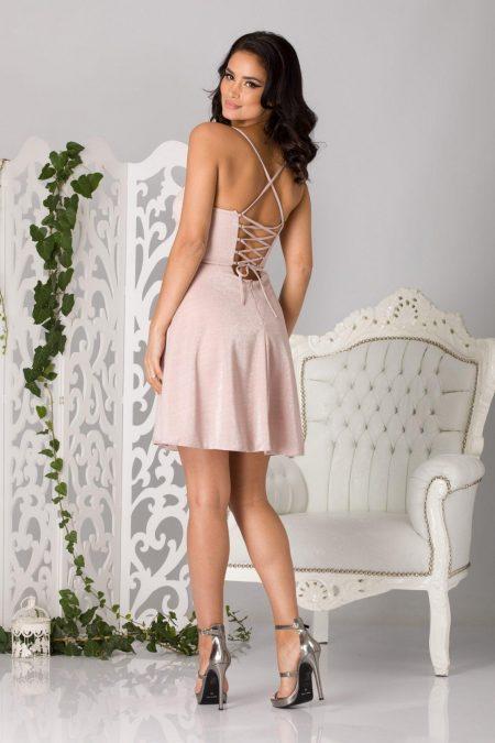 Dove Ροζ Φόρεμα 1293