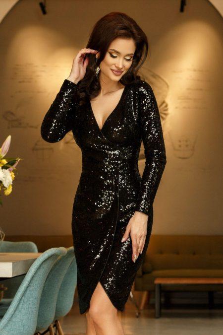 Elektra Black Dress