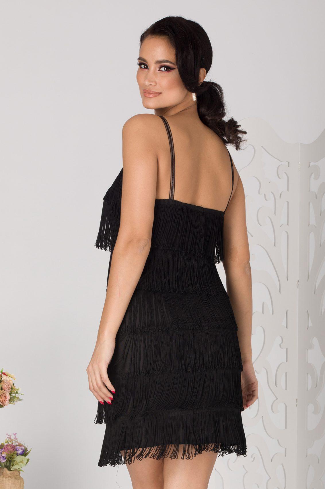Ritha Μαύρο Φόρεμα 5099