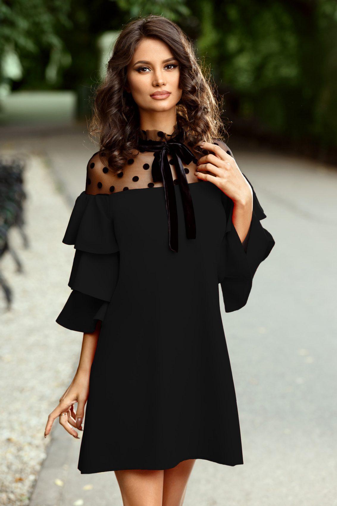 Valerie Black Dress
