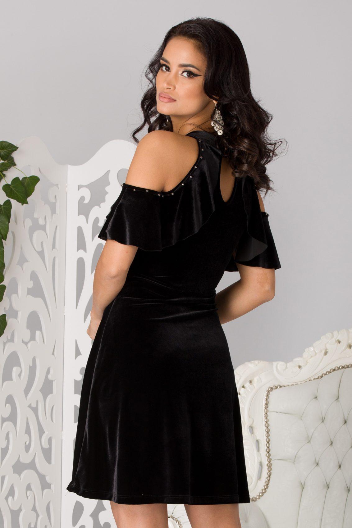 Mabel Black Dress