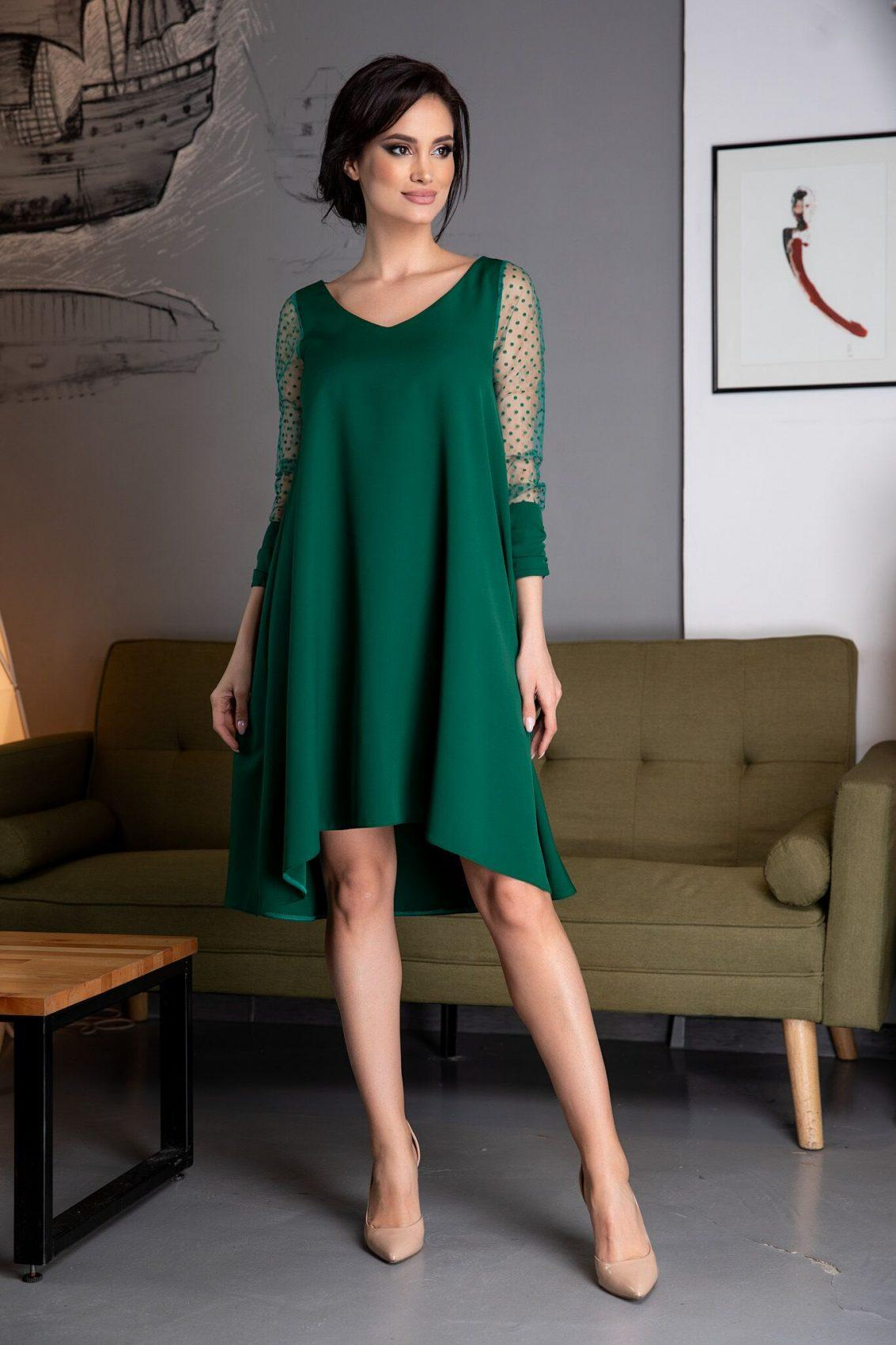 Mina Green Dress