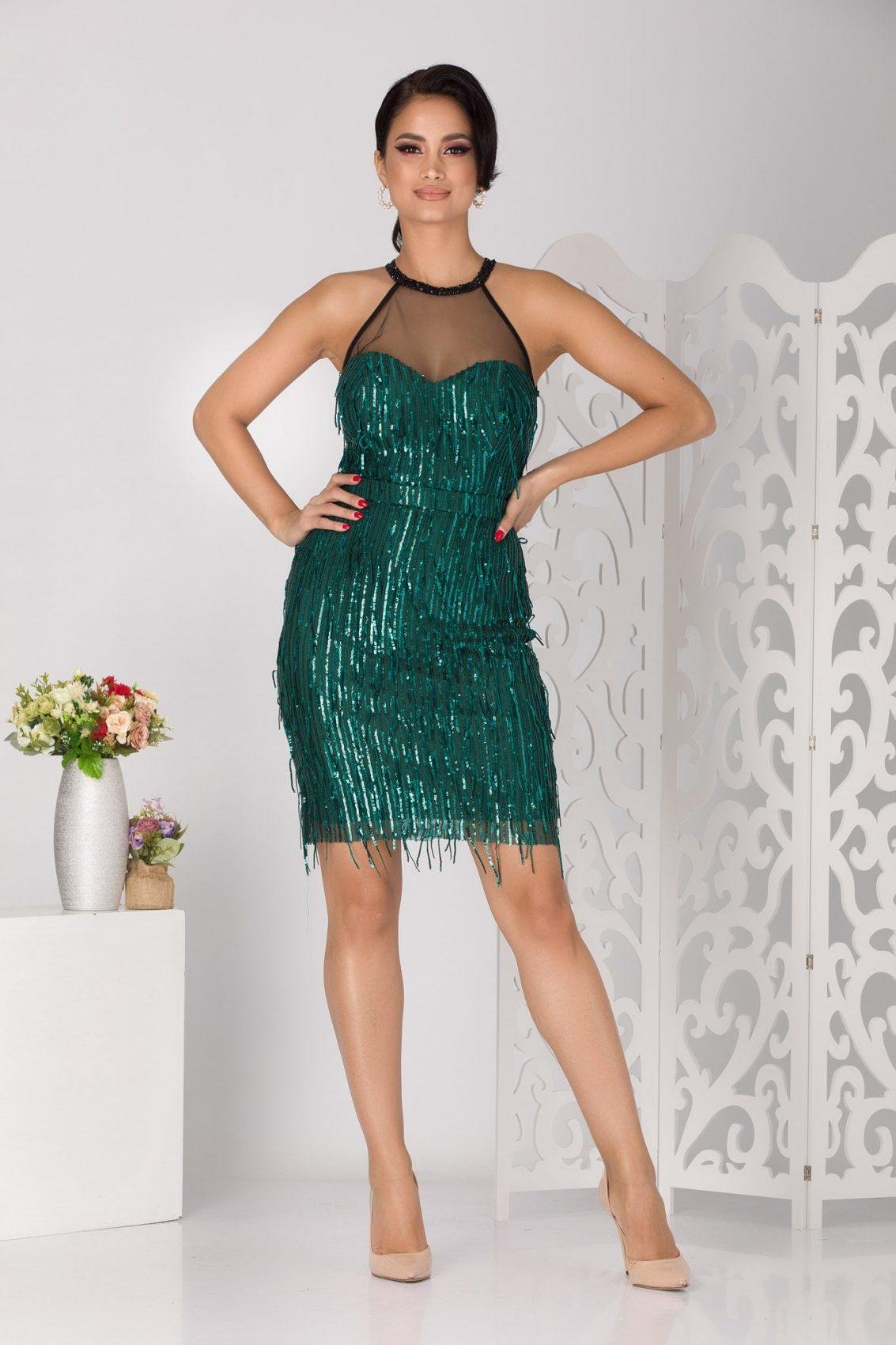 Joana Green Dress