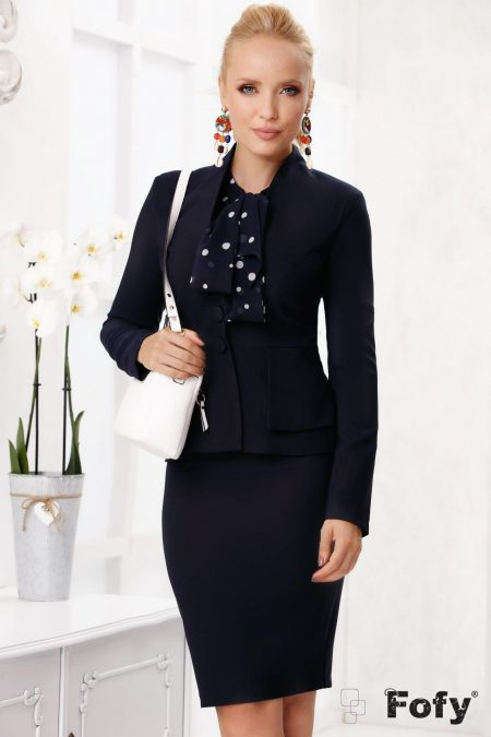 Kitty Navy Blue Jacket