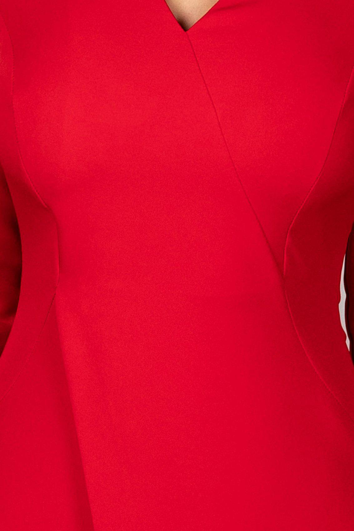 Dorianna Midi Κόκκινο Φόρεμα 5349