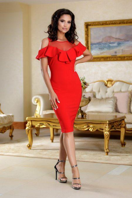 Κόκκινο Φόρεμα Brianna 4731