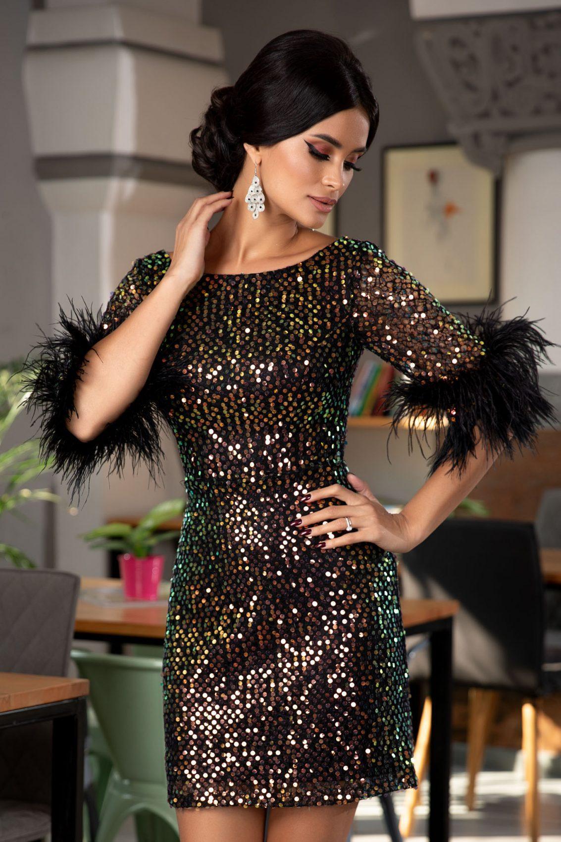 Gwenith Black Dress