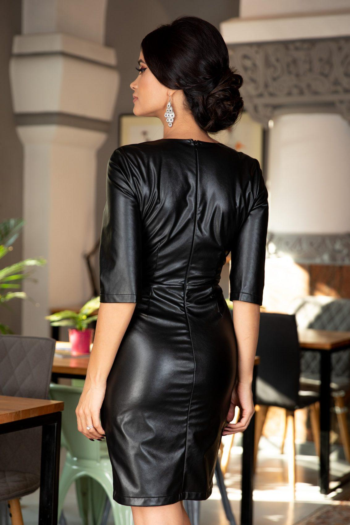Esther Μαύρο Φόρεμα 5402