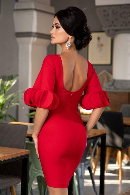 Geanine Κόκκινο Φόρεμα 5367