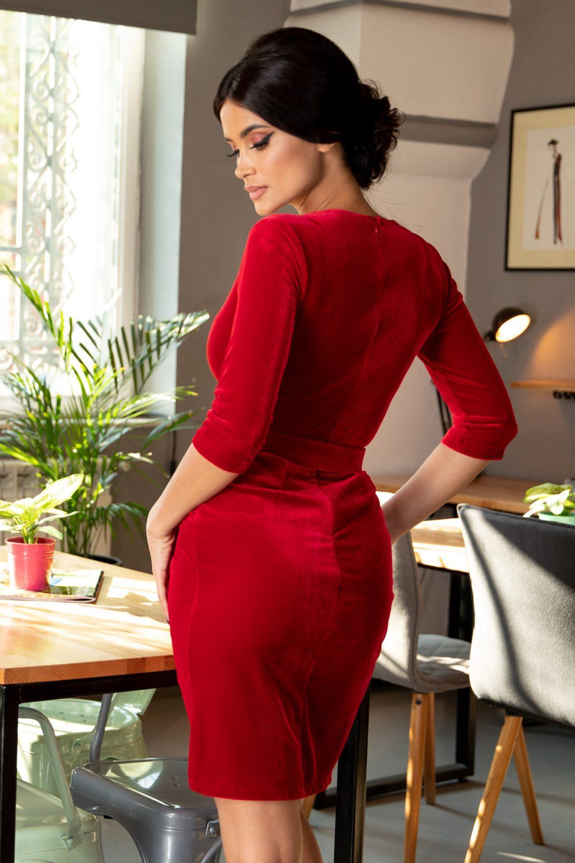 Κόκκινο Φόρεμα Thea 5373 1