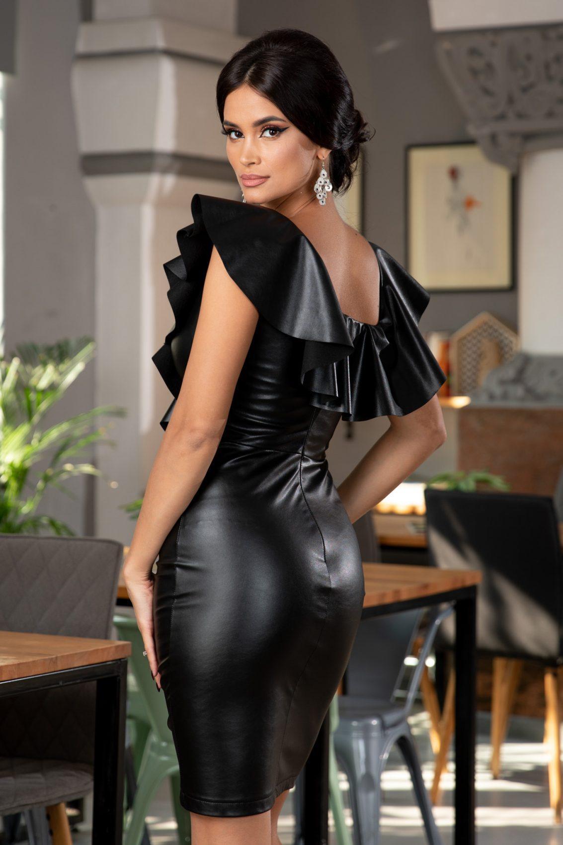 Rachel Μαύρο Φόρεμα 5403