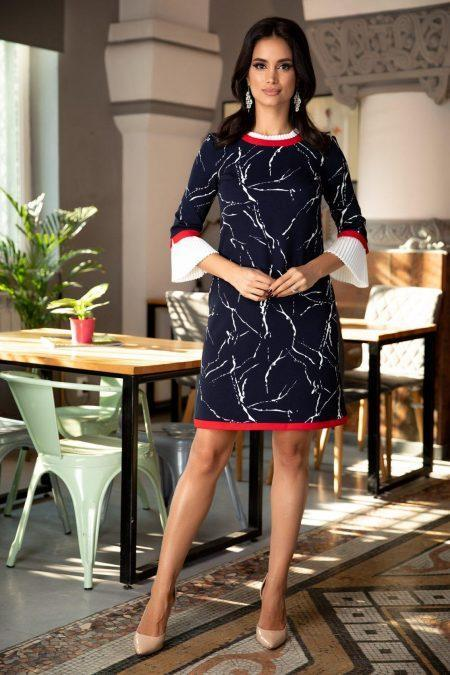 Ramya Navy Blue Dress