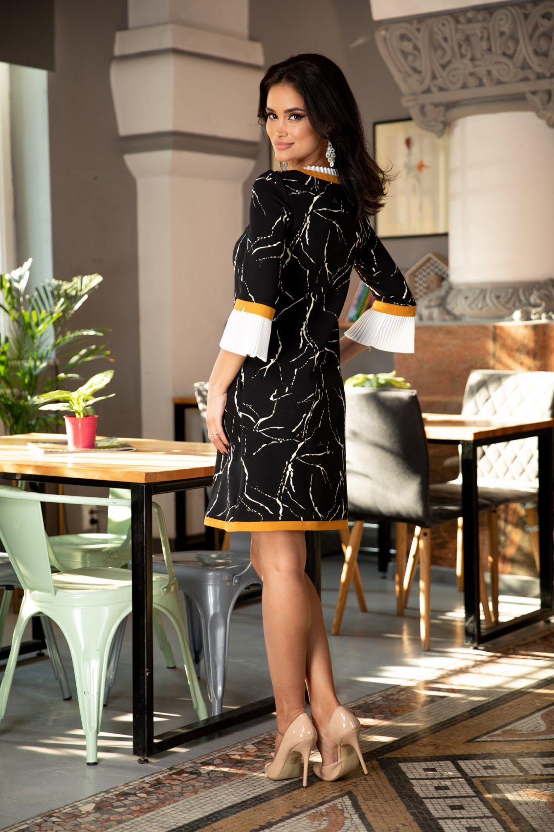 Ramya Μαύρο Φόρεμα 5360