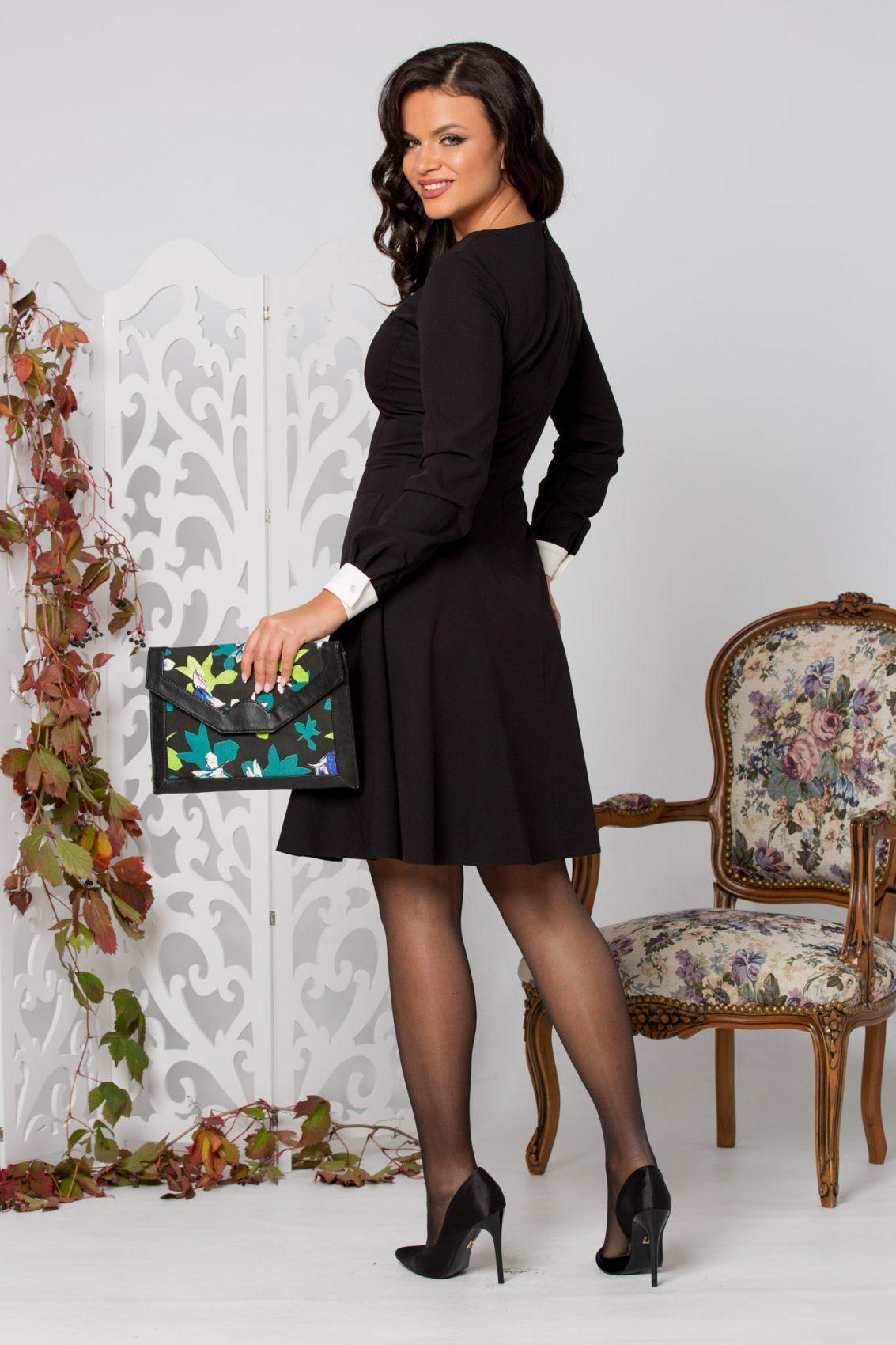 La Donna Galla Μαύρο Φόρεμα 5278