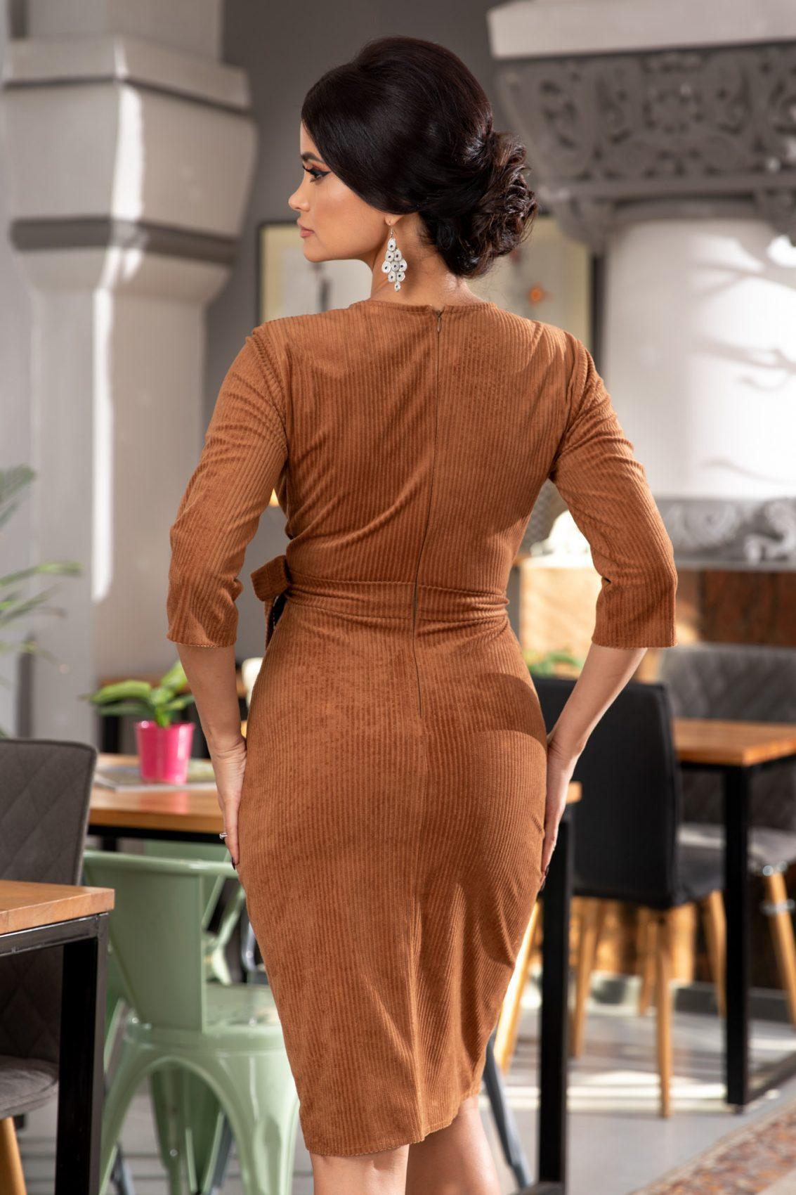 Jaqueline Καραμελέ Φόρεμα 5376