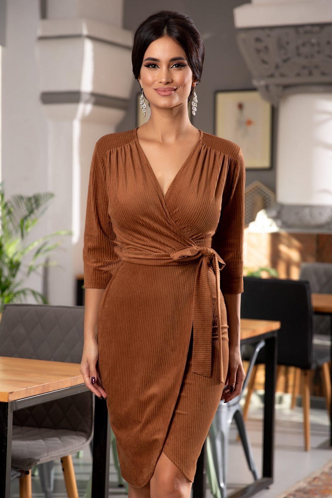 Jaqueline Caramel Dress