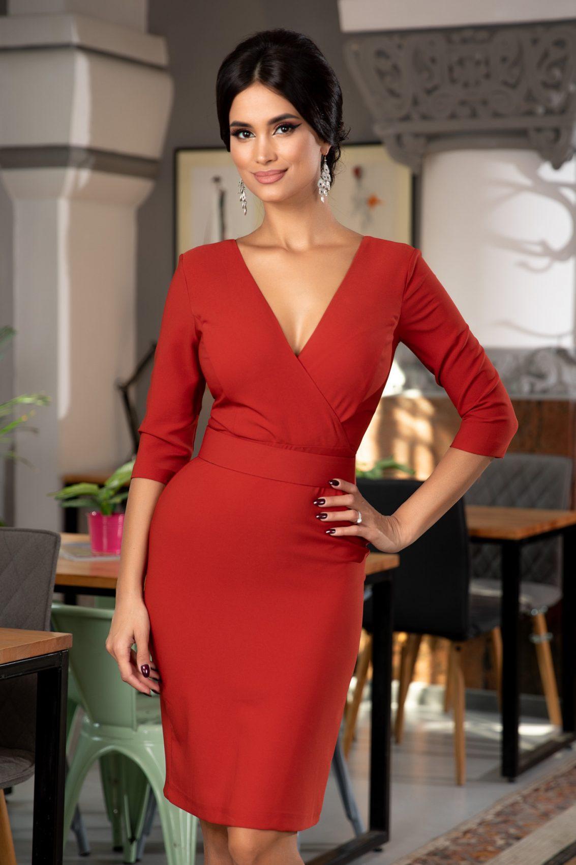 Malvina Bricky Dress