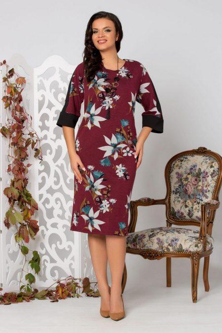 Rody Burgundy Dress