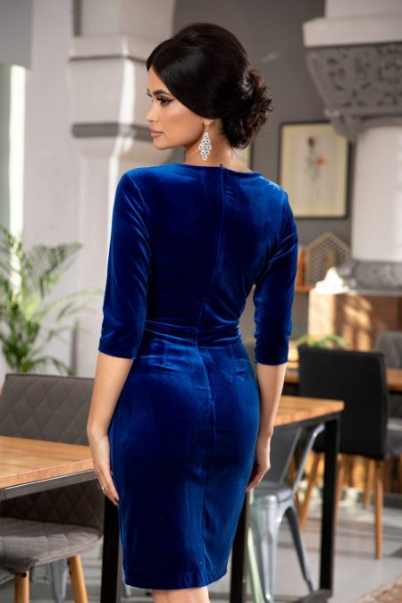 Thea Μπλε Φόρεμα 5375
