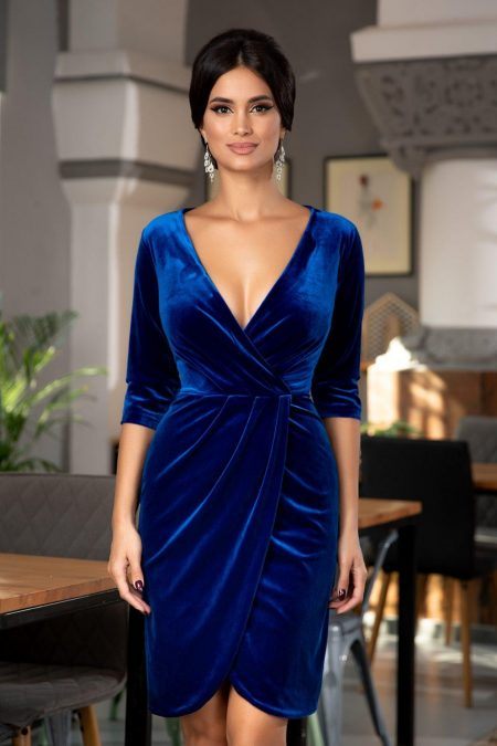 Thea Royal Blue Dress