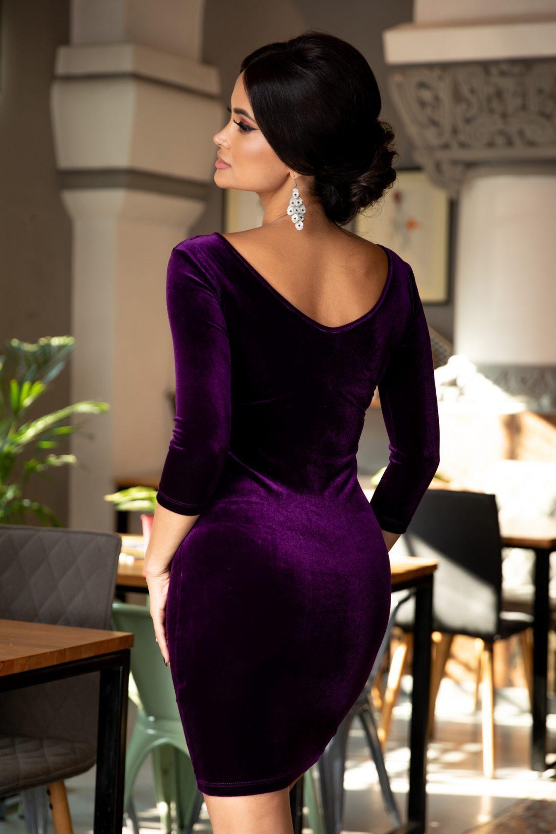 Darya Βιολετί Φόρεμα 1377