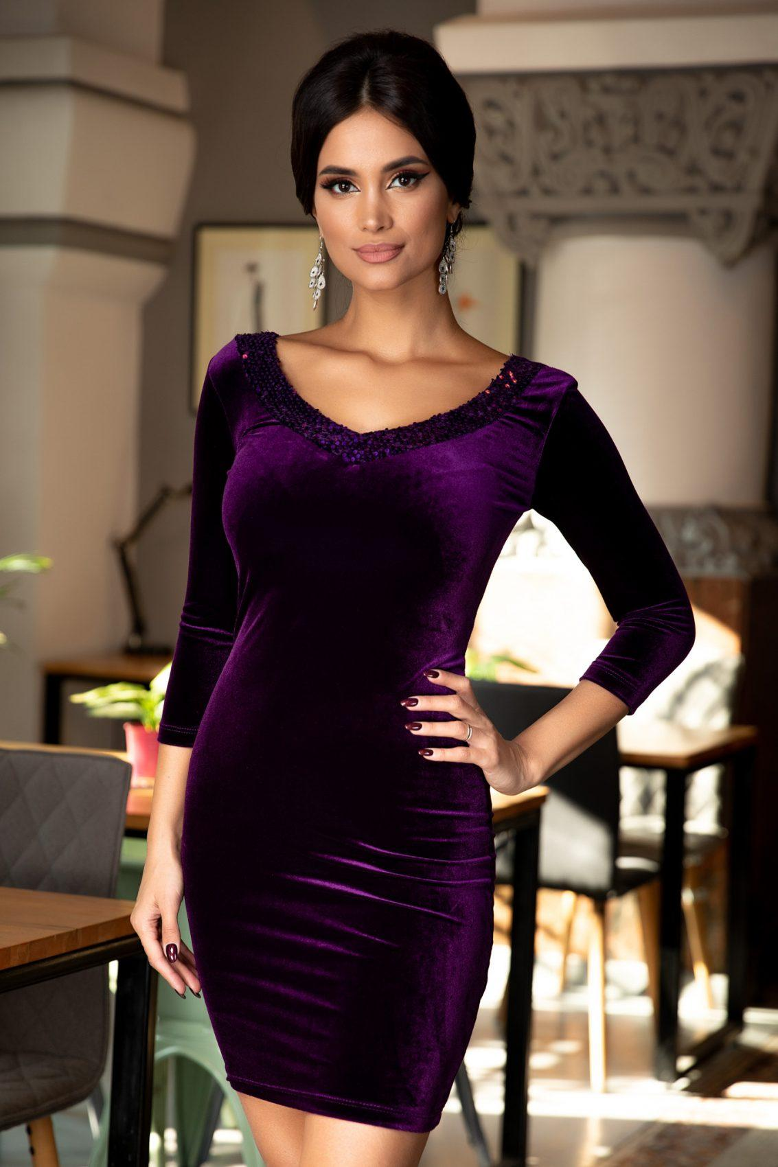 Darya Purple Dress