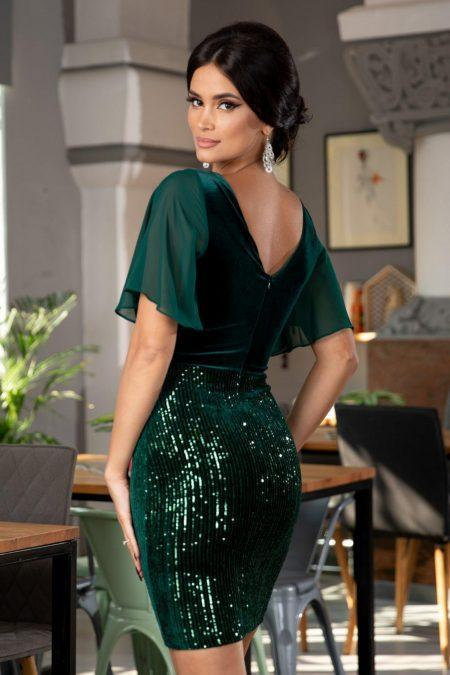 Ivy Πράσινο Φόρεμα 5362