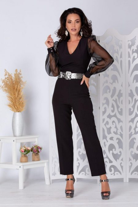 Sirya Black Jumpsuit