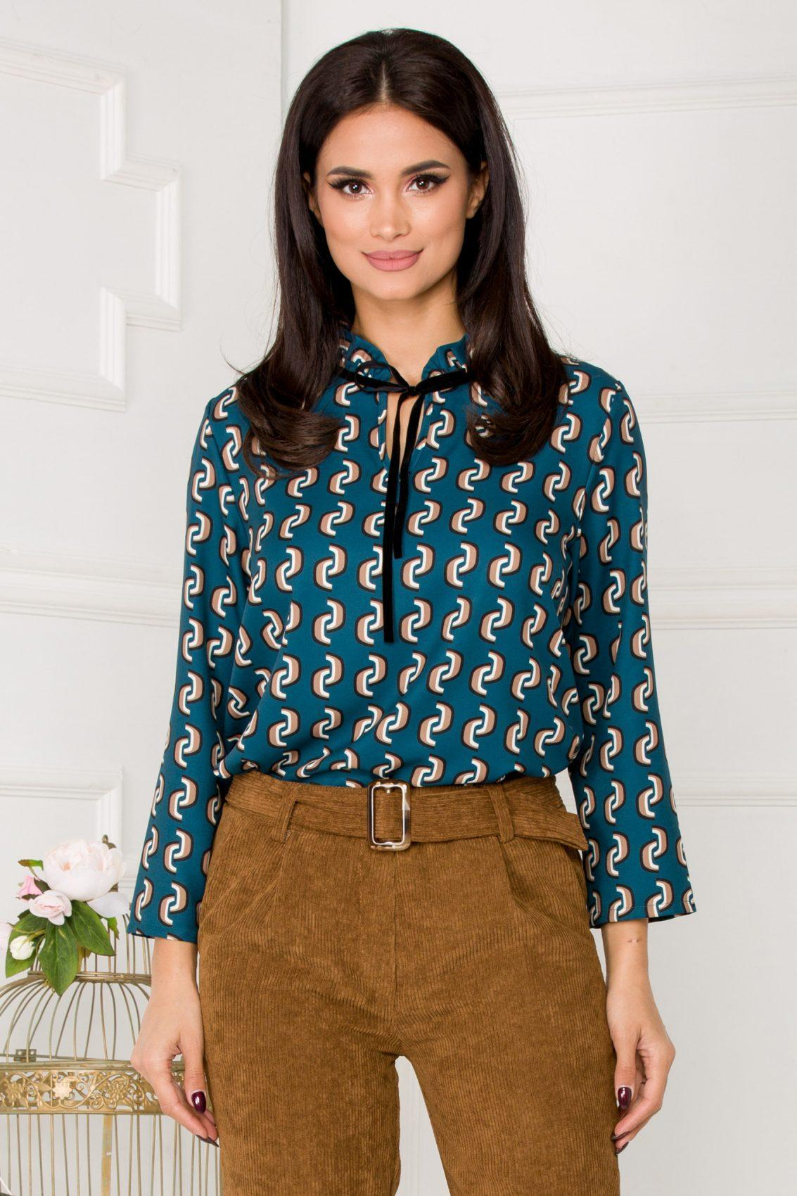 Rely Turquoise Blouse