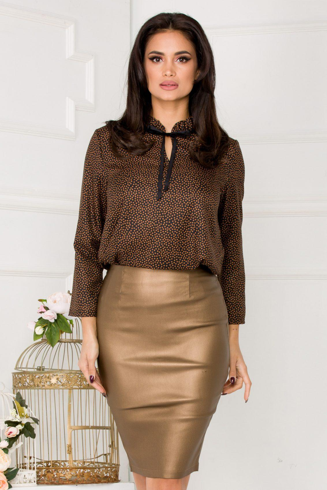 Rely Brown Blouse