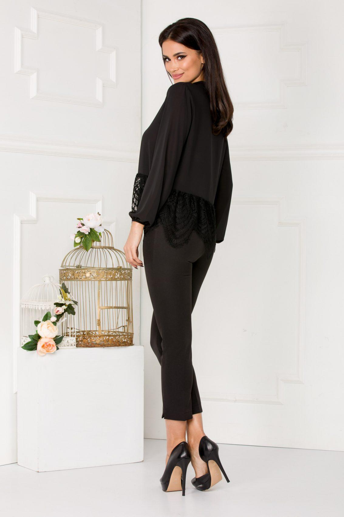 Nika Μαύρη Μπλούζα 5519