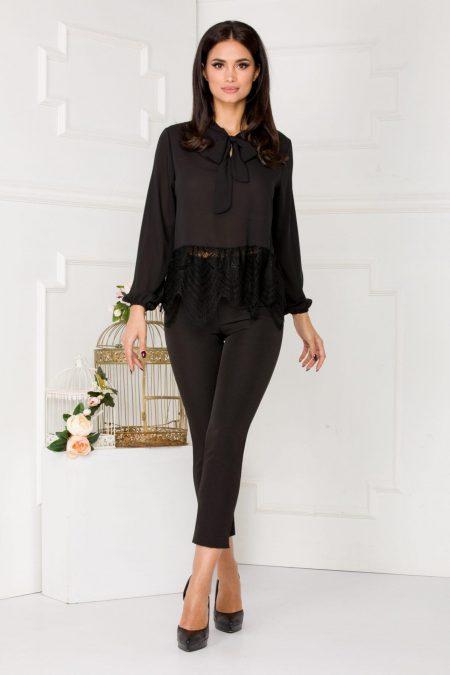 Nika Black Shirt