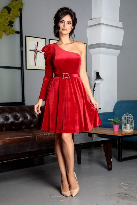 Giuletta Red Dress